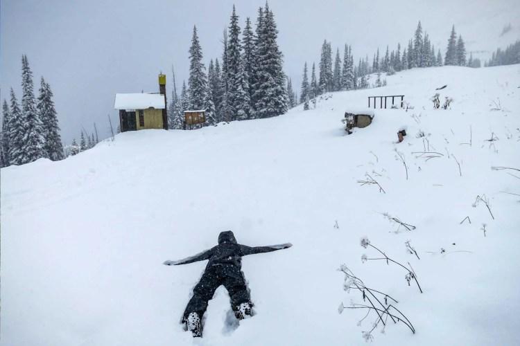 PCT Washington Snow