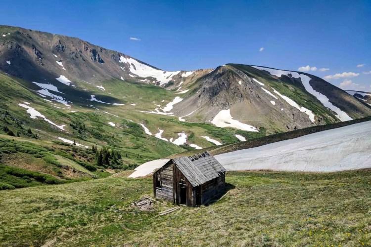 CDT Colorado Abandoned Cabin