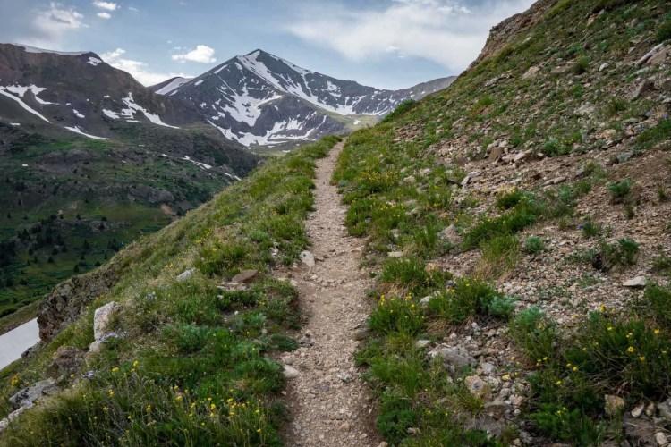 CDT Colorado Grays Peak Approach