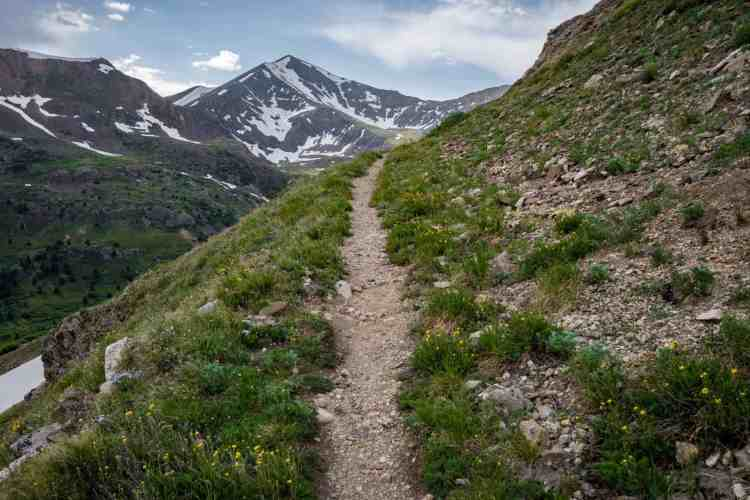 CDT Colorado Grays Peak Approach