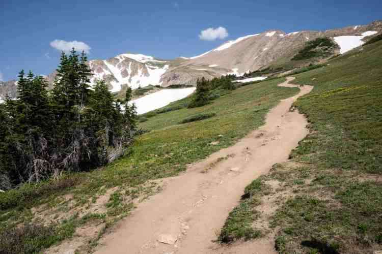CDT Colorado Herman Gulch Trail