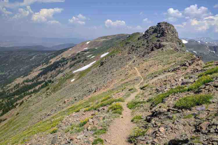 CDT Colorado James Peak Ridge