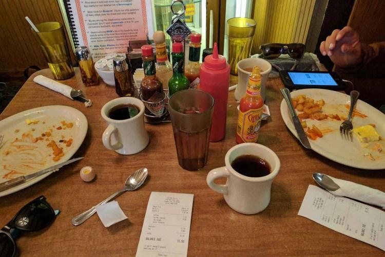 CDT Colorado Leadville Breakfast