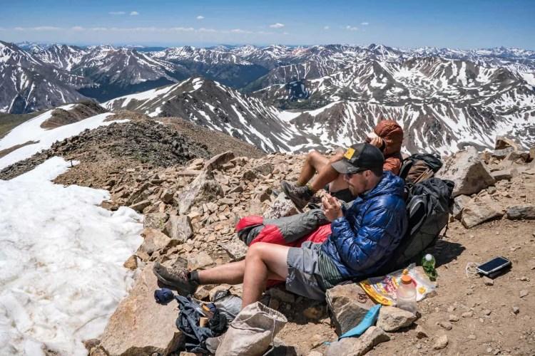 CDT Colorado Mount Elbert View