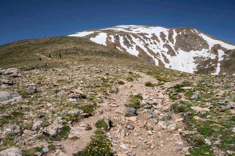 CDT Colorado Mount Elbert Trail