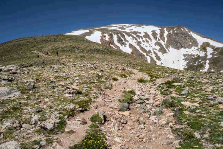 CDT Colorado Mount Elbert Trail