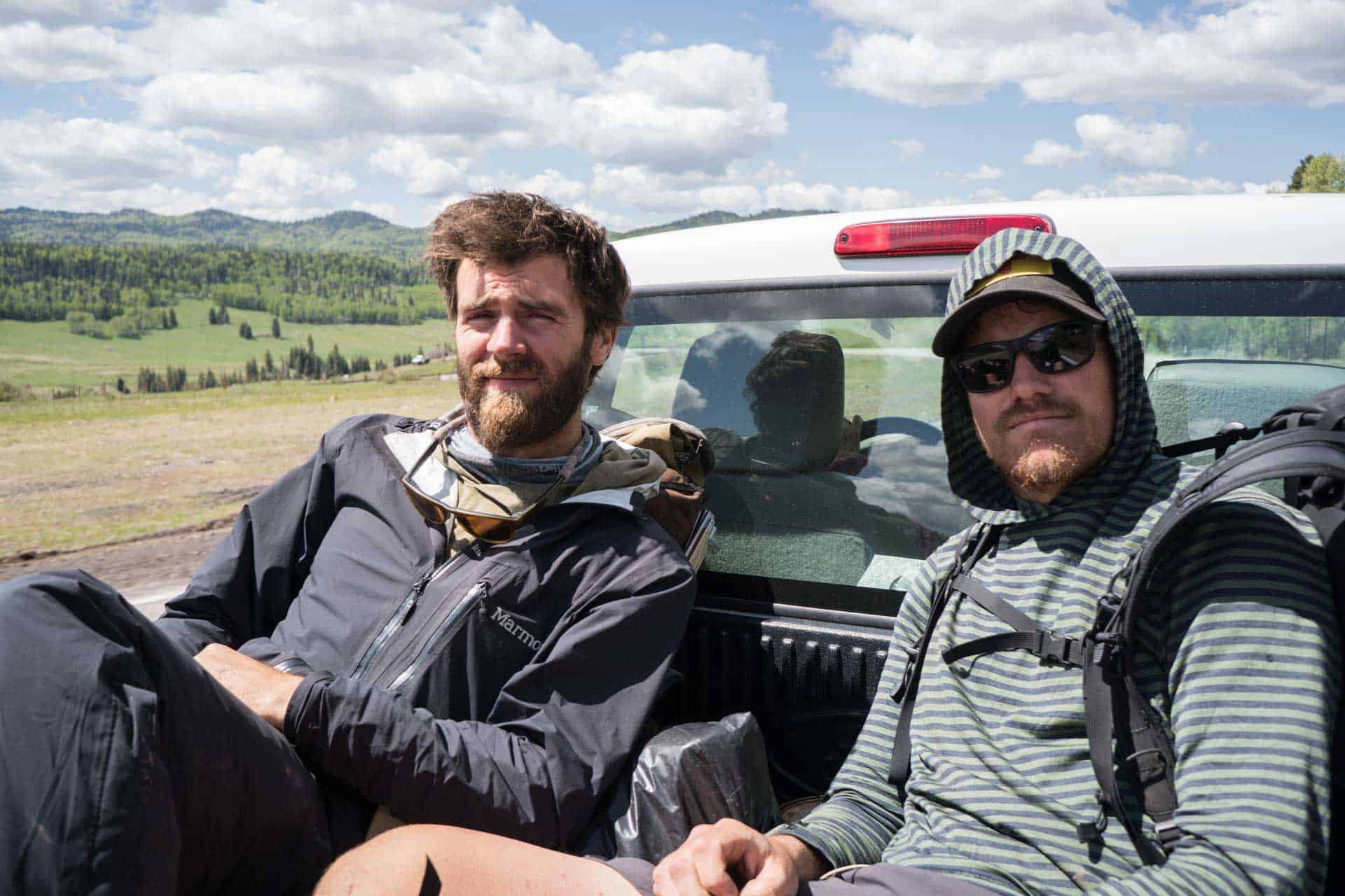CDT Colorado San Juan Mountains Hitchhiking