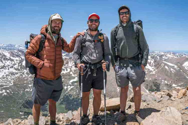 CDT Colorado Mount Elbert Group