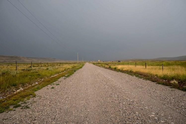 CDT Idaho Road Walk Thunderstorm