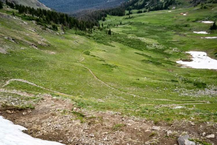 CDT Colorado Bowen Pass North