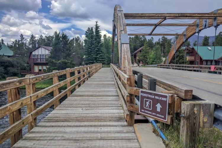 CDT Colorado Grand Lake Bridge