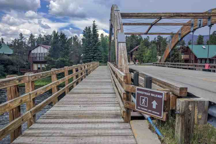 CDT Colorado Grand Lake Bridge