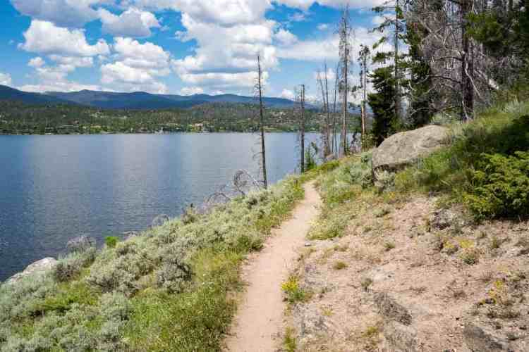 CDT Colorado Shadow Mountain Lake Trail