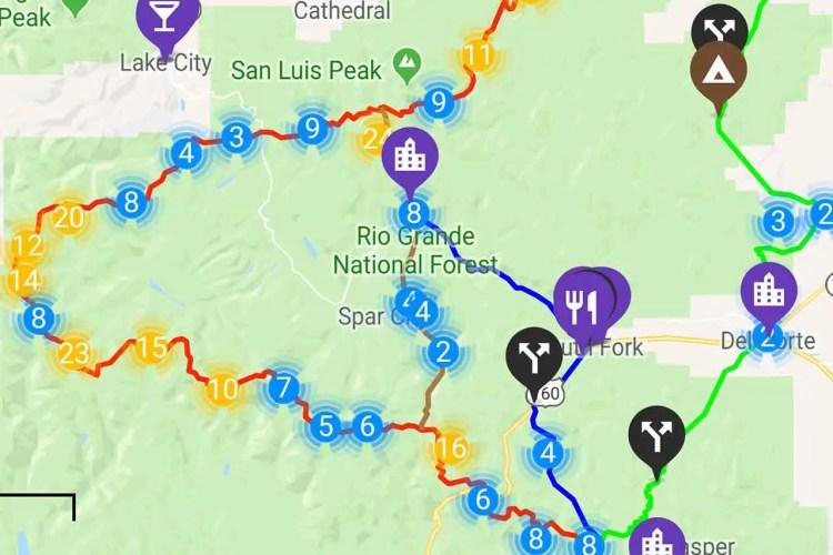 CDT Guthook Trail