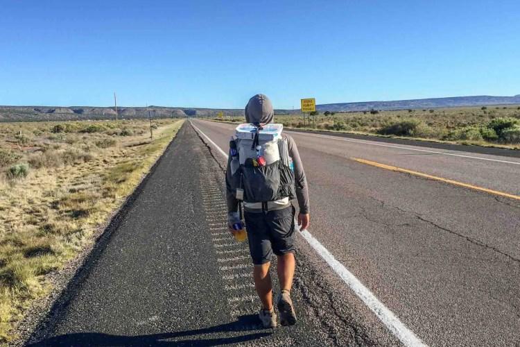 CDT New Mexico Road Walk