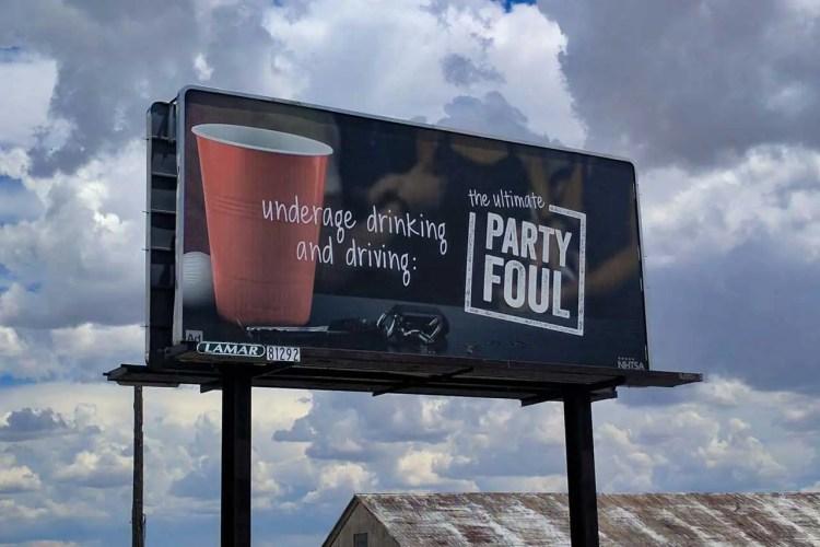 CDT Wyoming Rawlins Billboard