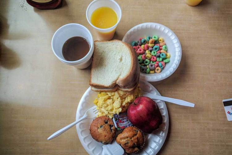 CDT Wyoming Rawlins Breakfast