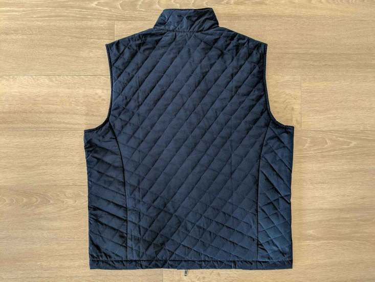 Bluffworks Horizon Quilted Vest Back