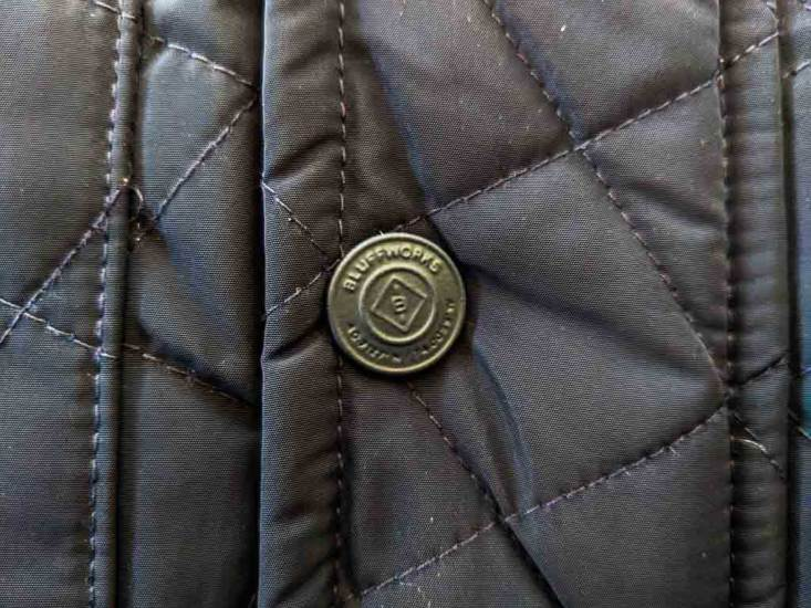 Bluffworks Horizon Quilted Vest Button