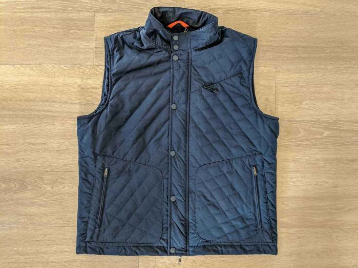 Bluffworks Horizon Quilted Vest Front