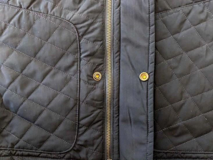Bluffworks Horizon Quilted Vest Zipper