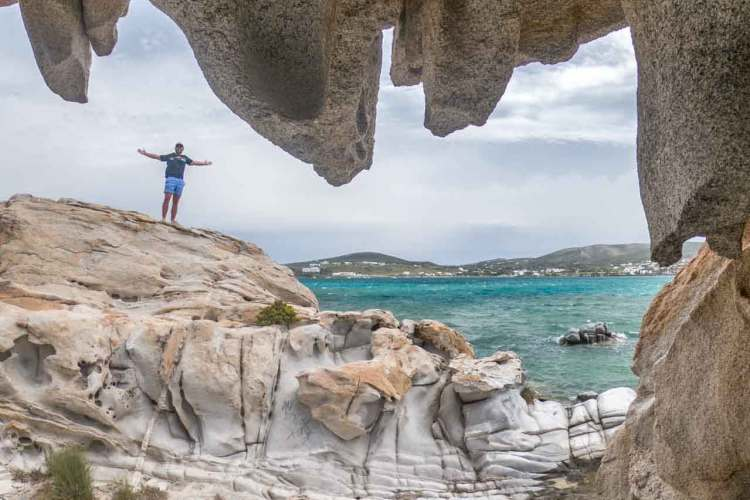 Greece Paros Rocks