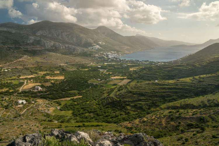 Greece Amorgos Hike View