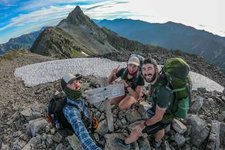 Japan Alps Traverse Kita Alps Group