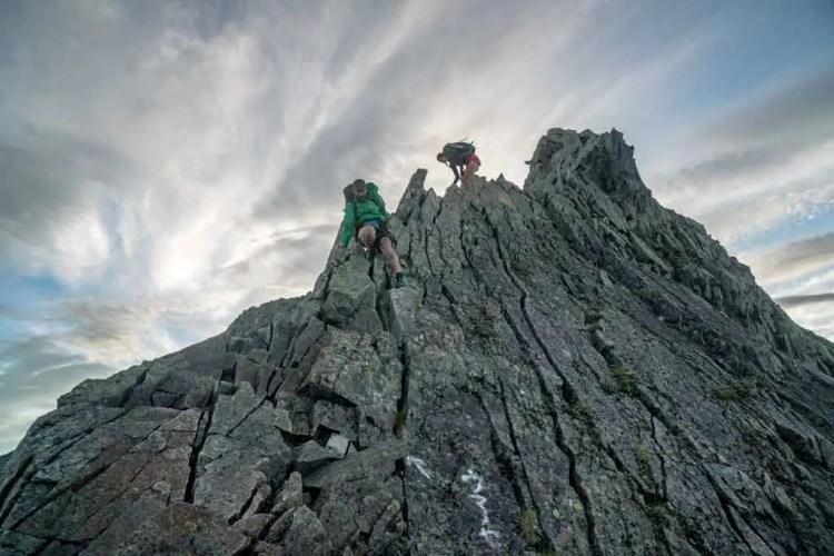Japan Alps Traverse Kita Alps Steep Trail