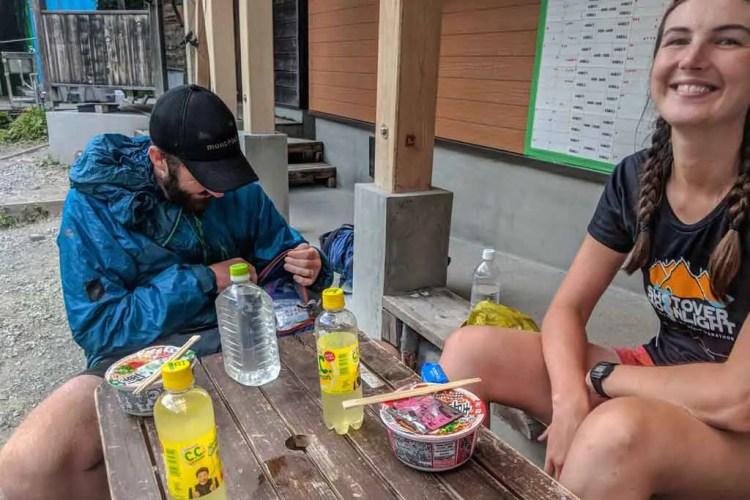 Japan Alps Traverse Noodles