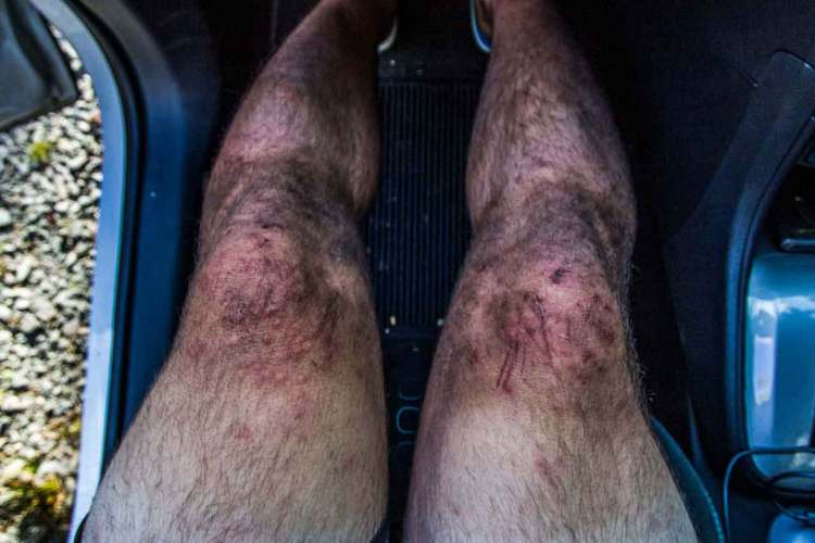 Tasmania Federation Peak Track Legs