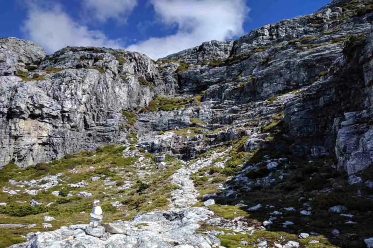 Tasmania Frenchmans Cap Track Summit Trail