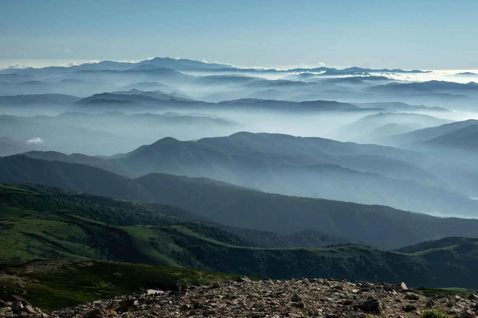 Japan Alps Traverse Kita Alps Mountains