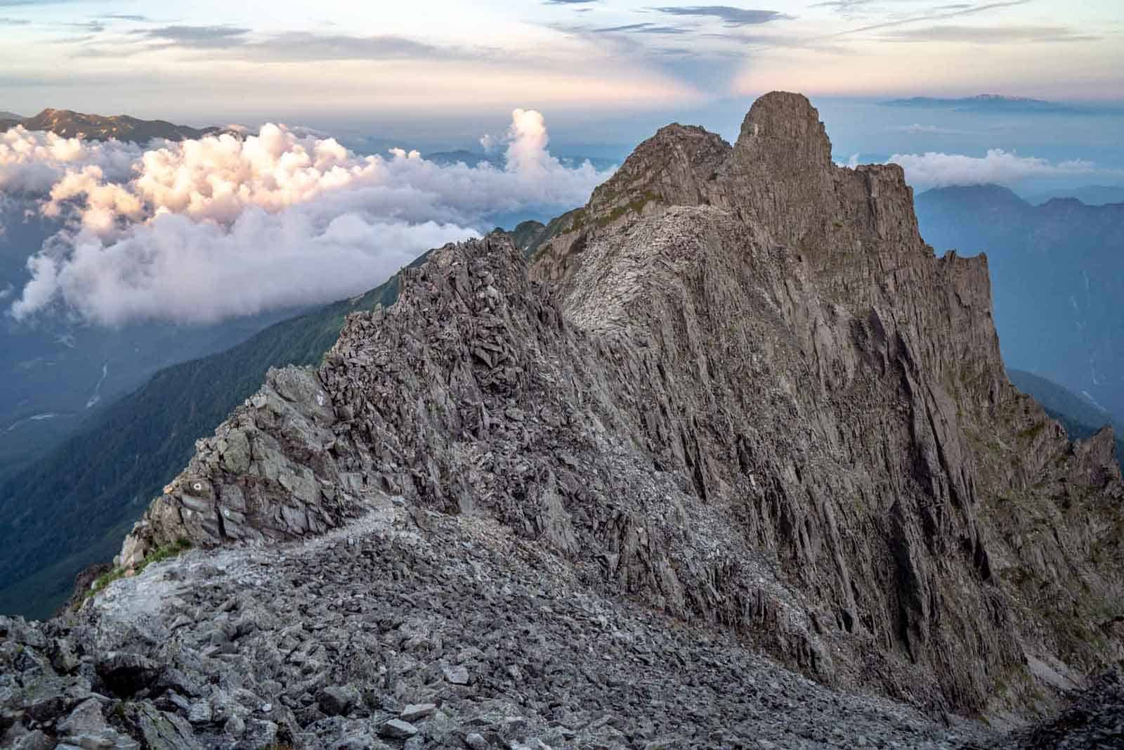 Japan Alps Traverse Kita Alps Jandamuru
