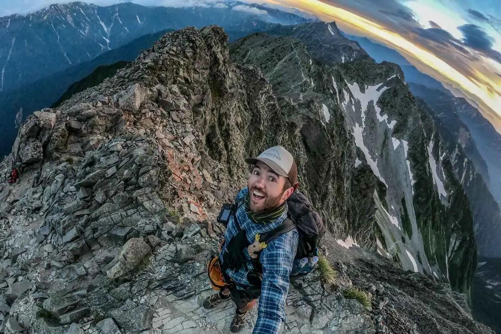 Japan Alps Traverse Kita Alps Mac Ridge