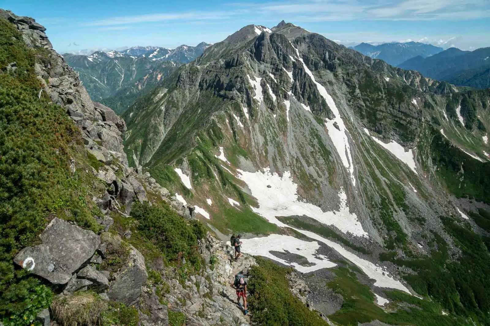 Japan Alps Traverse Kita Alps Daikeretto