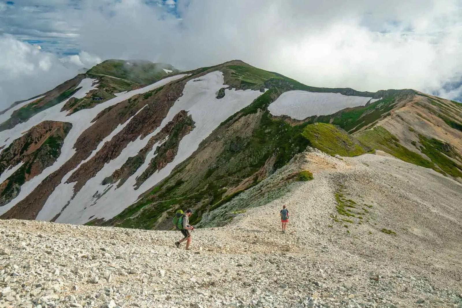 Japan Alps Traverse Kita Alps Tom Paula Ridge