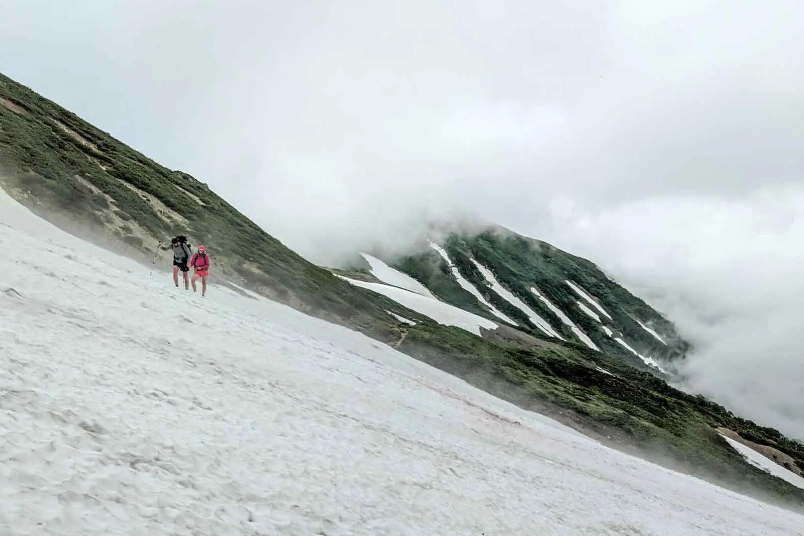 Japan Alps Traverse Kita Alps Snow Traverse
