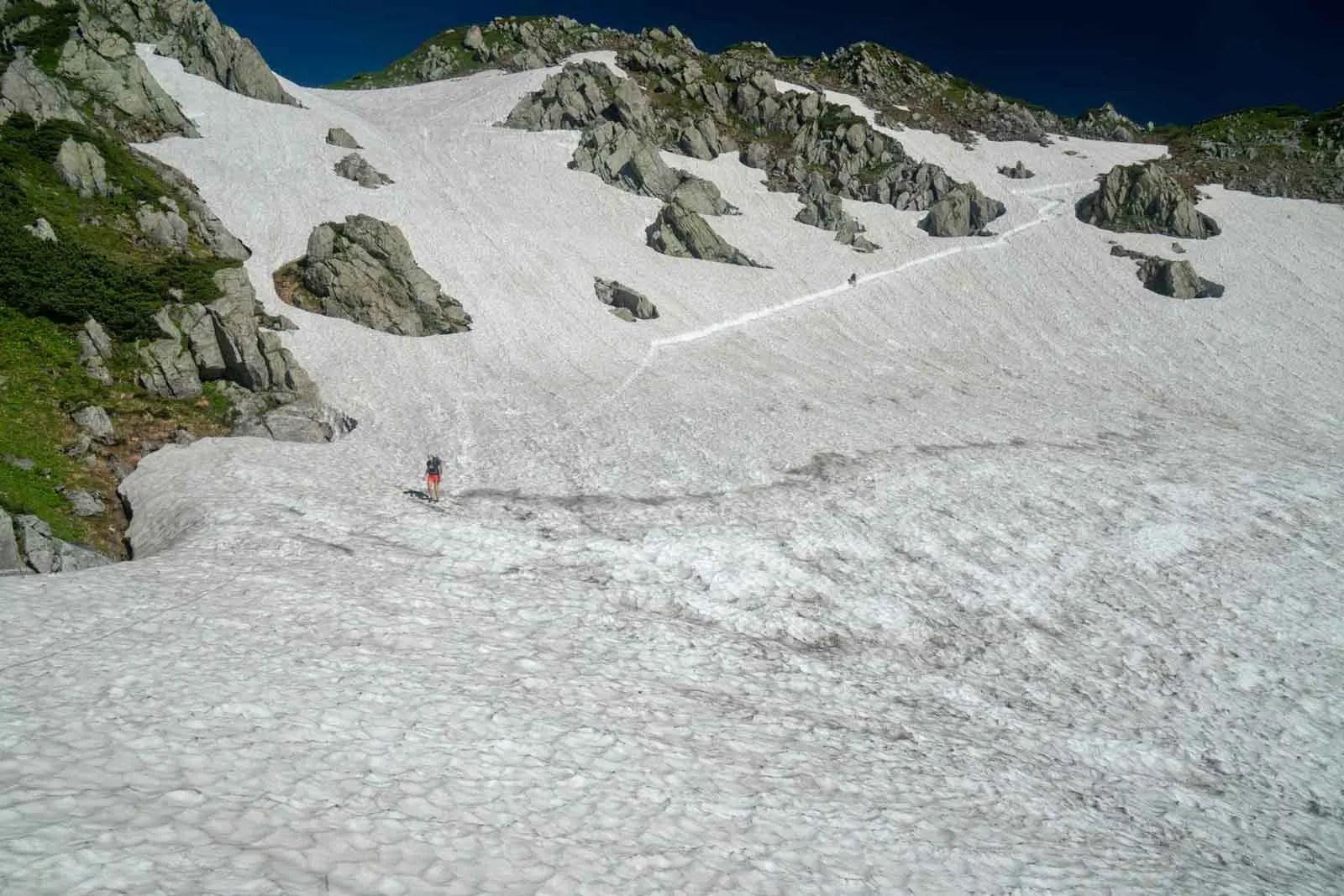 Japan Alps Traverse Kita Alps Tateyama Snowfield