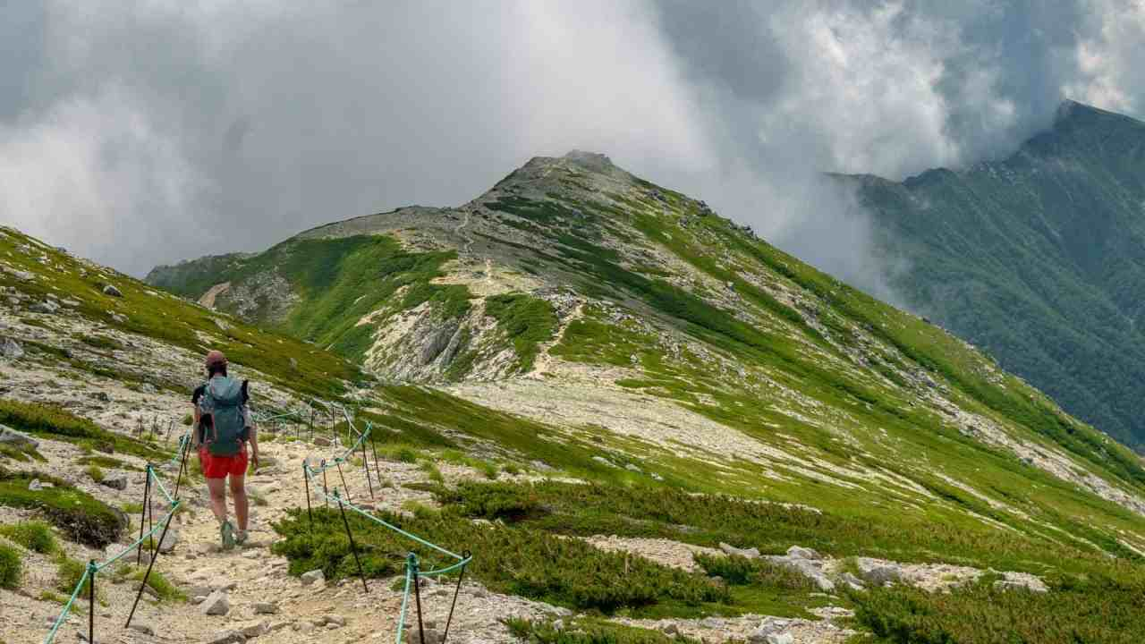 Japan Traverse Chuo Alps Featured