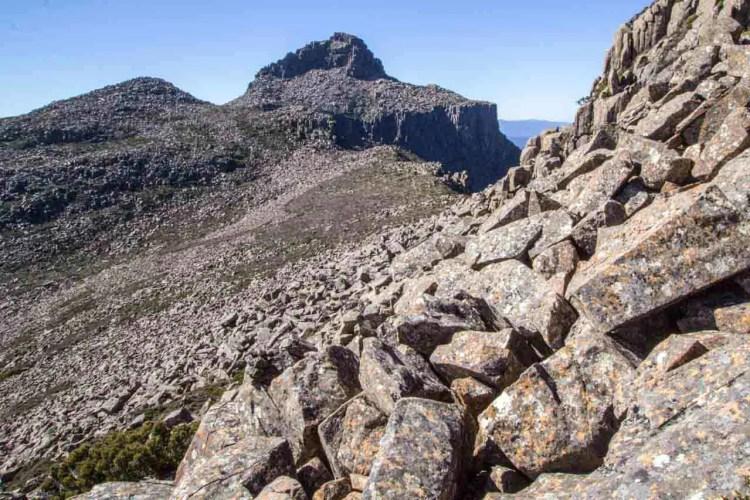 Tasmania Mount Anne Circuit Mount Anne View