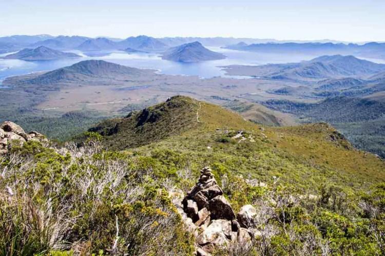 Tasmania Mount Anne Circuit Looking Back