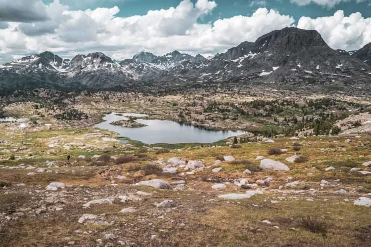 CDT Wyoming Wind River Range