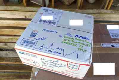 PCT Resupply Box