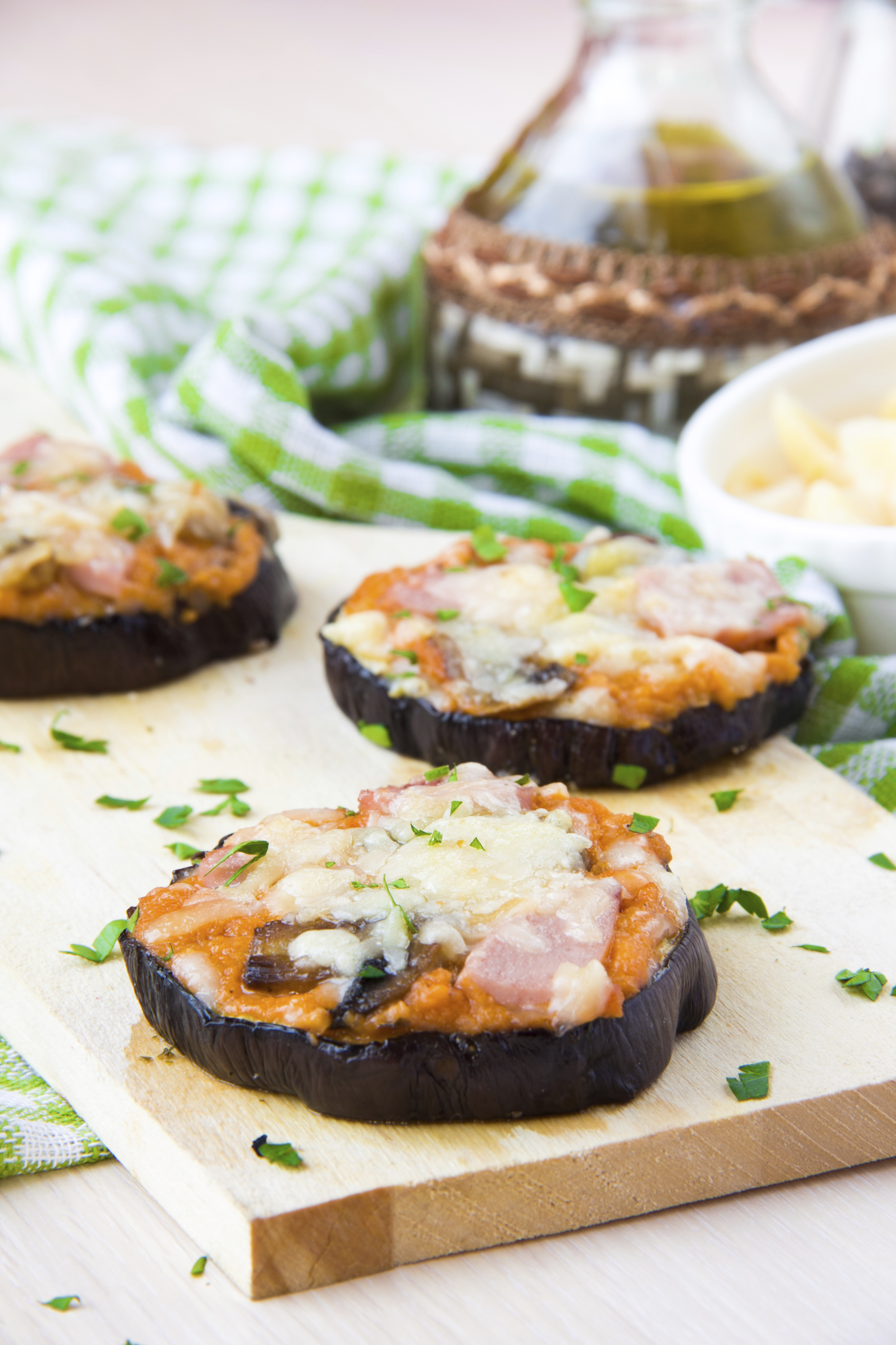 Eggplant Pizza Half Your Plate