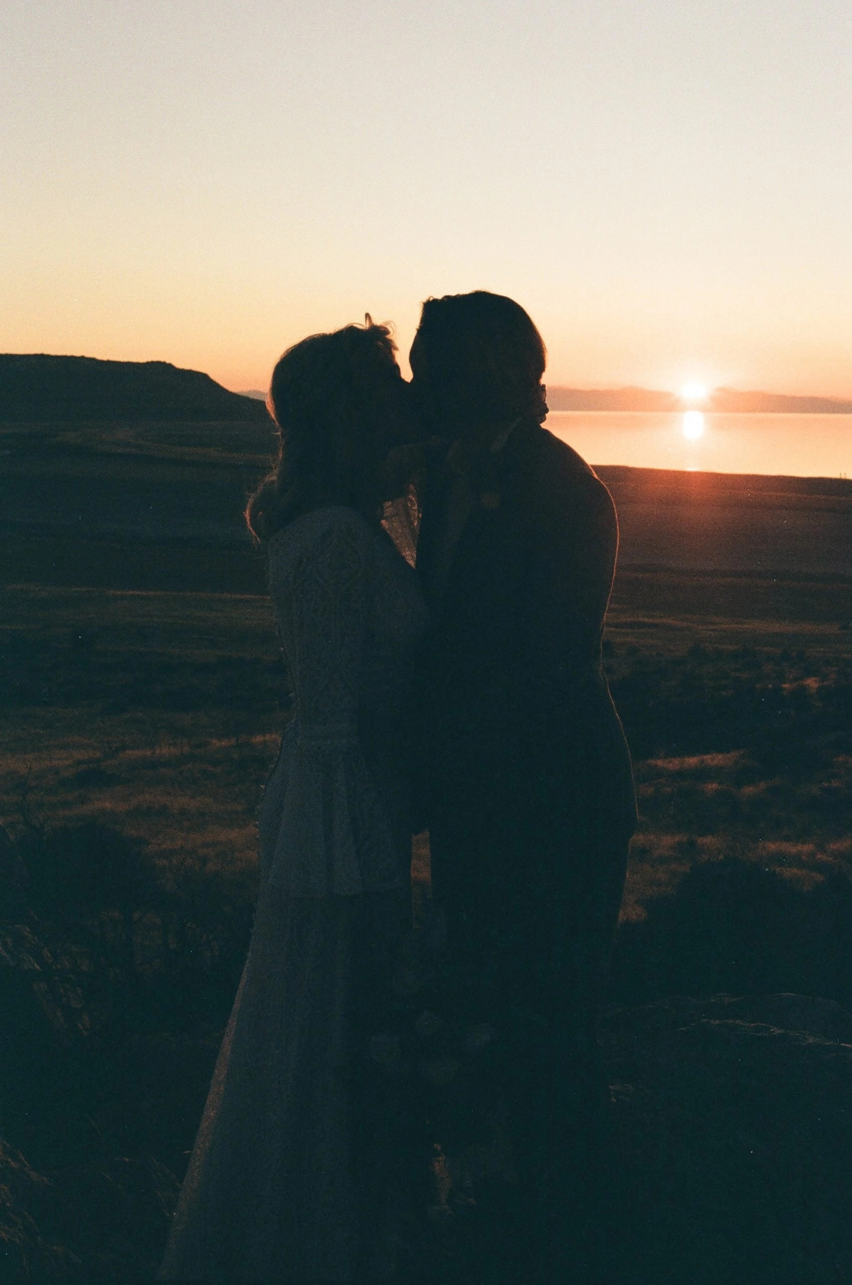 utah elopement on antelope island