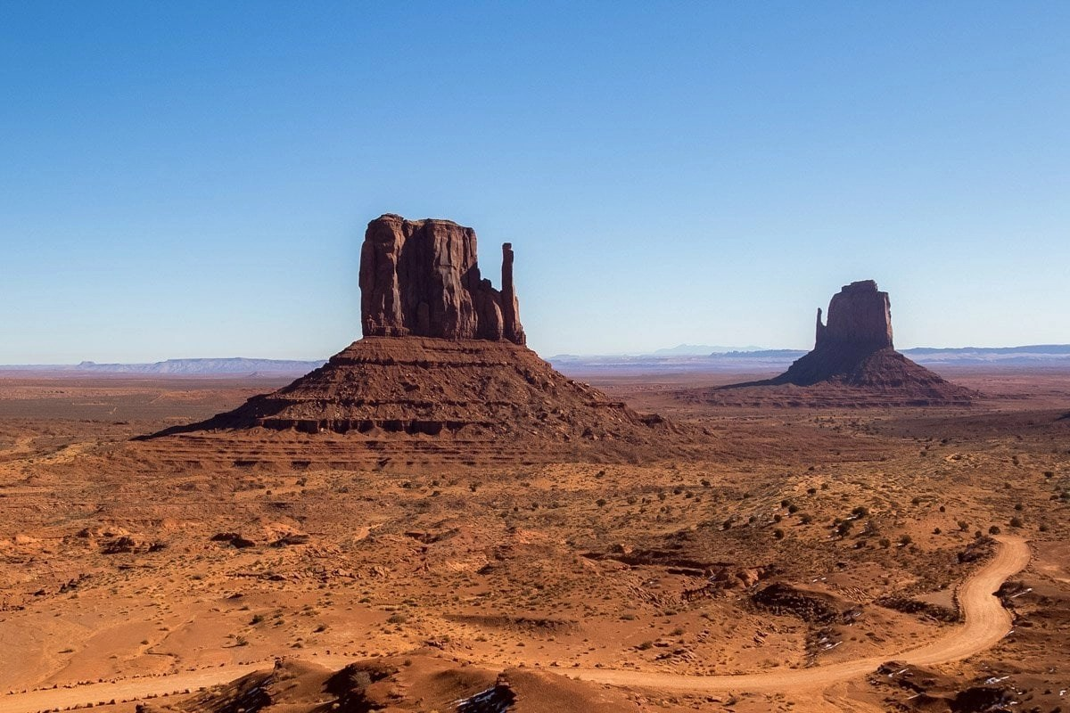 adventure photographer in monument valley