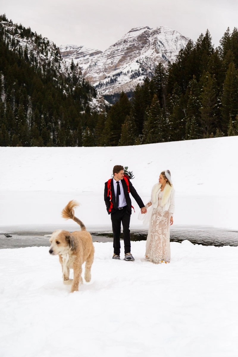 tips for planning your elopement in the winter in utah mountains