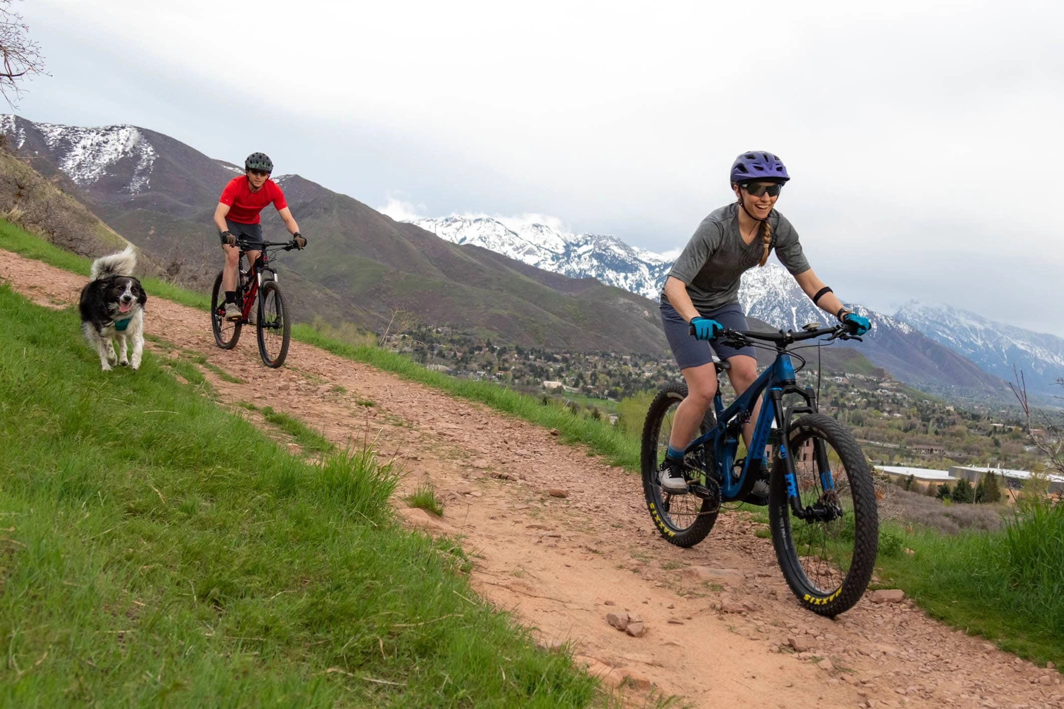 mountain biking in the wasatch range of utah