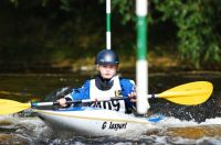 HXCC's junior slalom squad takes off